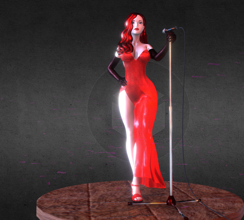 1.png Download free STL file Jessica Rabbit • Template to 3D print, diegolopez266