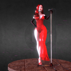 Download free 3D printer files Jessica Rabbit, diegolopez266
