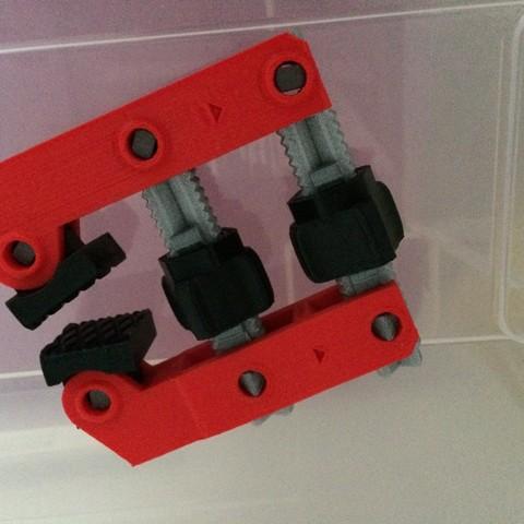 Impresiones 3D gratis Abrazadera de tornillo manual, dforlithe
