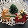 Free 3D print files Christmas deer, dforlithe