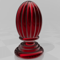 Download 3D printing designs Decorative finial , tropez