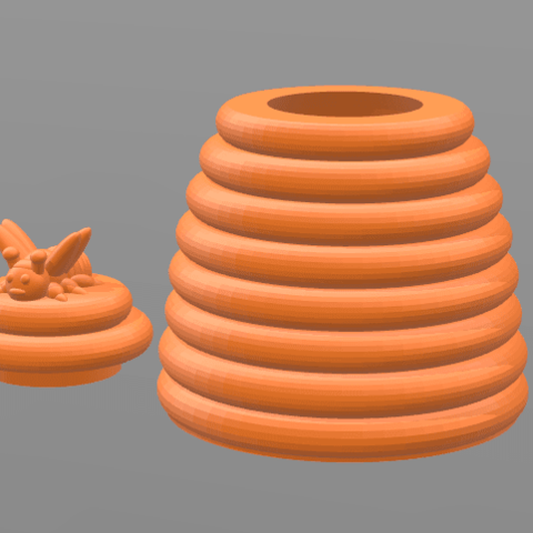 3d model 45mm HiveBox, tropez