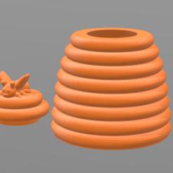 Untitled.png Download STL file 45mm HiveBox • 3D printable design, tropez