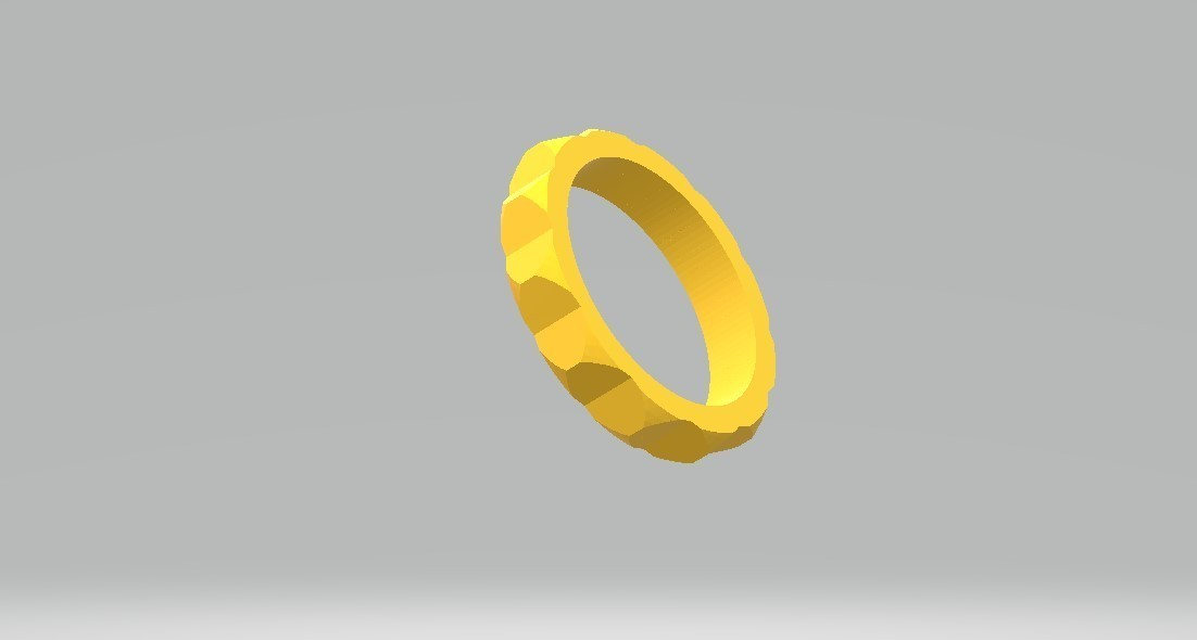 ring 1.jpg Download STL file facet ring • Object to 3D print, tropez