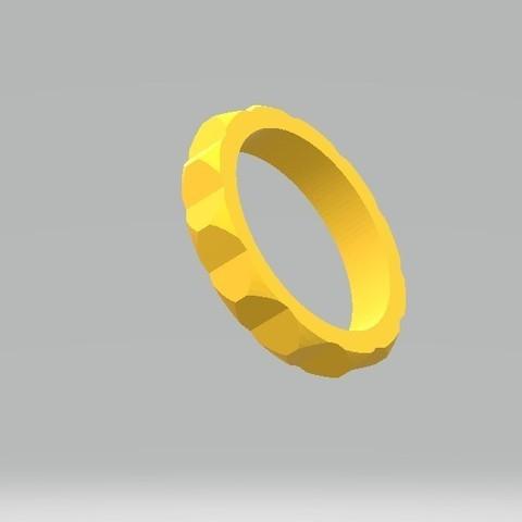 Archivo STL anillo de faceta, tropez