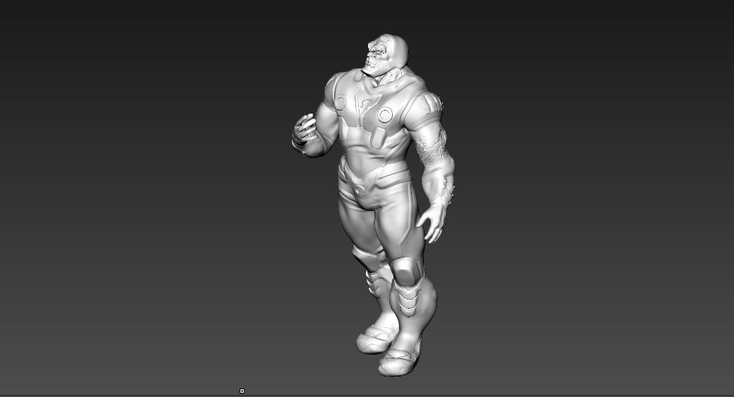 apokilip.jpg Download free STL file darkseide • 3D print model, juankolor