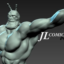 3D printer files the tick, juankolor