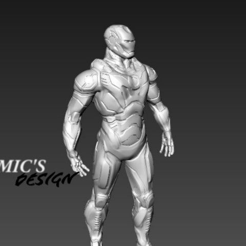 Descargar modelo 3D iron man, juankolor