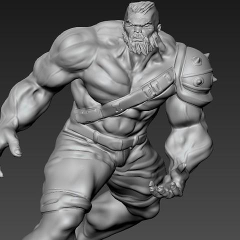 Descargar modelos 3D para imprimir hulk, juankolor