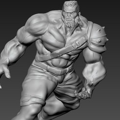 Download 3D printer model hulk, juankolor