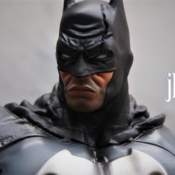 Descargar modelos 3D para imprimir busto batman, juankolor
