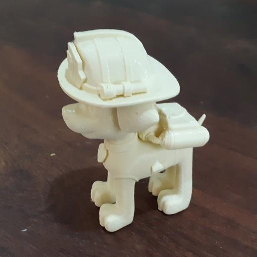 2.jpg Télécharger fichier STL Patrouille de patrouilles de Marshall Paw • Modèle à imprimer en 3D, pablog673