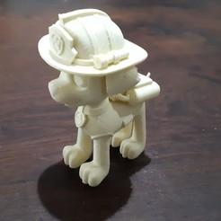 1.jpg Télécharger fichier STL Patrouille de patrouilles de Marshall Paw • Modèle à imprimer en 3D, pablog673