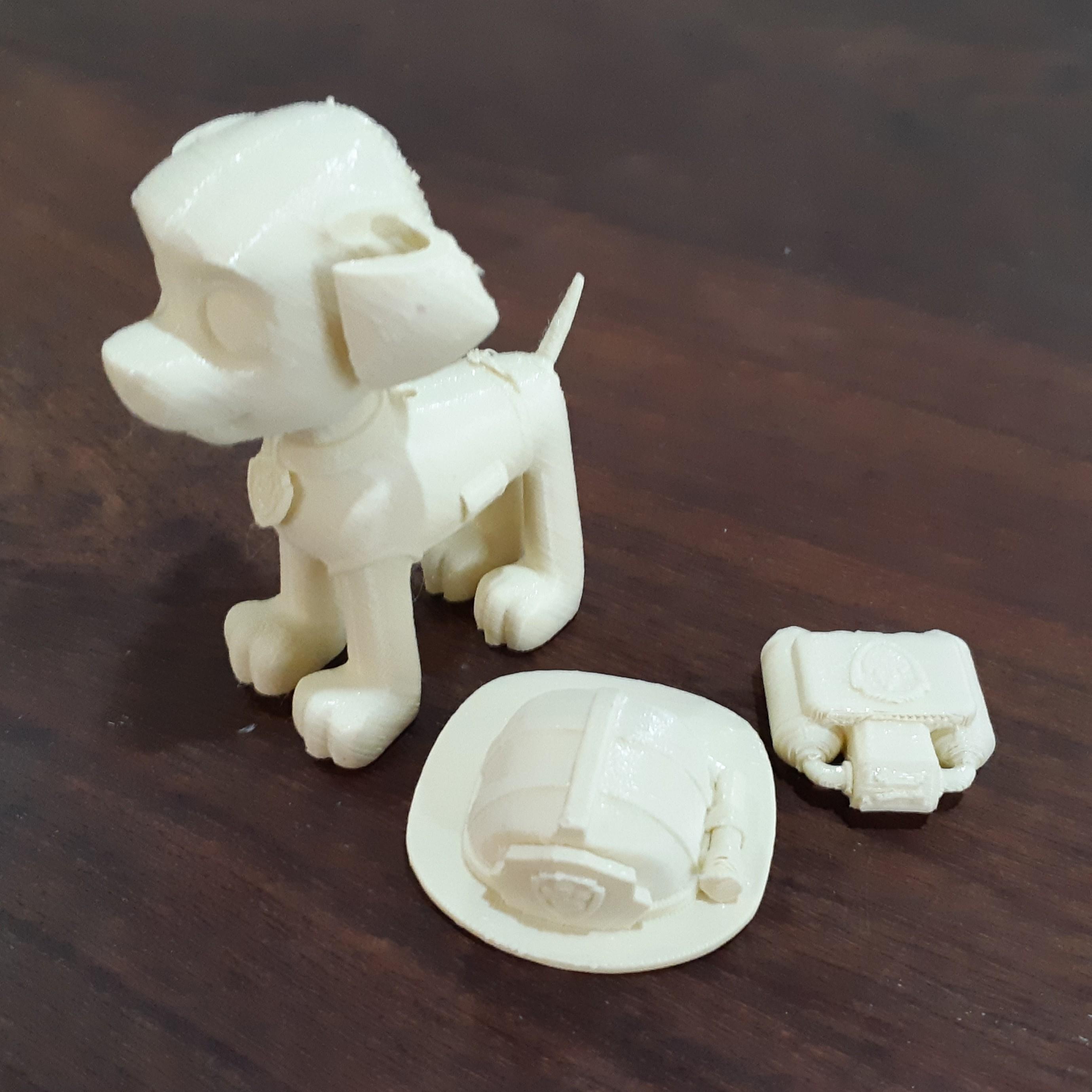 3.jpg Télécharger fichier STL Patrouille de patrouilles de Marshall Paw • Modèle à imprimer en 3D, pablog673