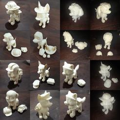 ejemplos2.png Télécharger fichier STL Patrouille des pattes • Objet imprimable en 3D, pablog673