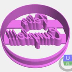 Télécharger fichier 3D gratuit emporte-pièce circulaire personnalisé, pablog673