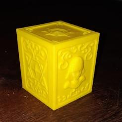 Télécharger fichier impression 3D Boîte de Pandore Vierge, pablog673