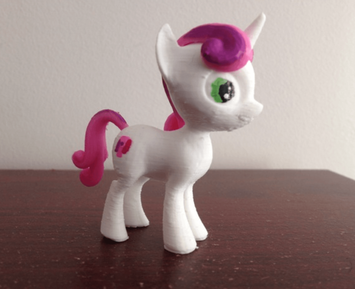 c990d68e338b58cced08bebfe01f5500_preview_featured.png Download free STL file Sweetiebelle MLP Pony  • 3D printable template, arcandg