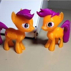 Free 3D printer model Scootaloo MLP Pony, arcandg