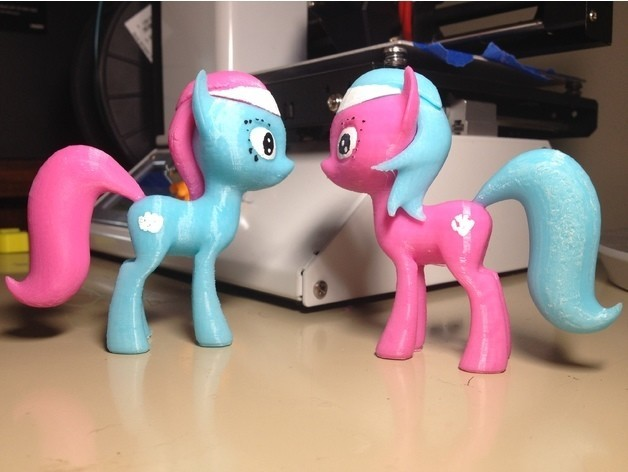 77aa44f191d8a17f59dc8597c3b9035d_preview_featured.jpg Download free STL file MLP Lotus et Aloe Pony • 3D print model, arcandg