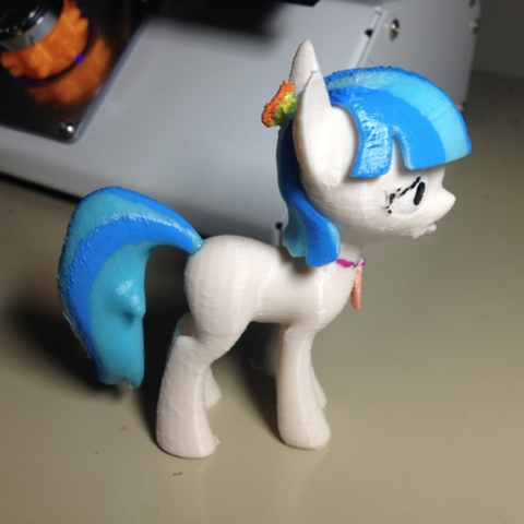 Download free 3D printer designs Coco Pommel MLP Pony, arcandg