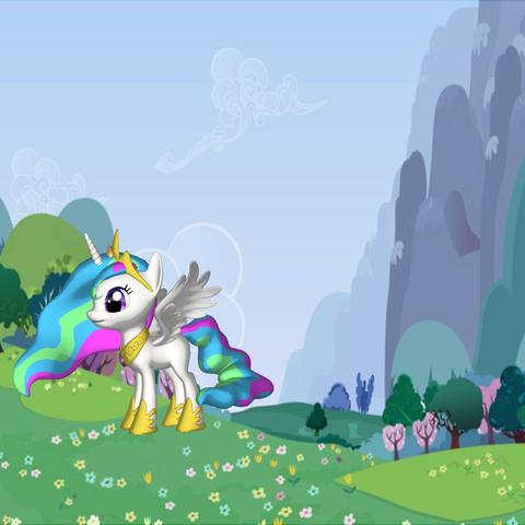 pony (1).png Download free STL file MLP Pony Celestia • Design to 3D print, arcandg