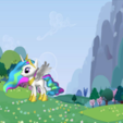 Free stl MLP Pony Celestia, arcandg