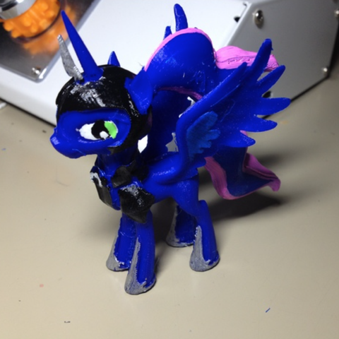 Free stl file Luna in armor MLP Pony REMIXED, arcandg