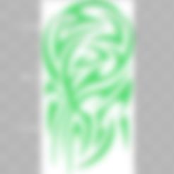 grand tribal.STL Download STL file Tattoo Tribal • 3D printable template, nicolas_mcfr