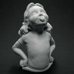 CheekyMonkey_Front_01.jpg Télécharger fichier STL gratuit Cheeky Monkey • Objet pour impression 3D, bendansie