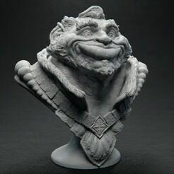 PappaOrkington_Front_01.jpg Télécharger fichier STL gratuit Pappa Orkington avec la sculpture de Timelapse • Objet pour imprimante 3D, bendansie