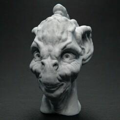 NurohGribsek_Head_Front_01.jpg Télécharger fichier STL gratuit Nuroh Gribsek • Modèle à imprimer en 3D, bendansie