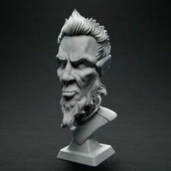JustChilling_Front_01.jpg Download free STL file Just Chilling • Model to 3D print, bendansie