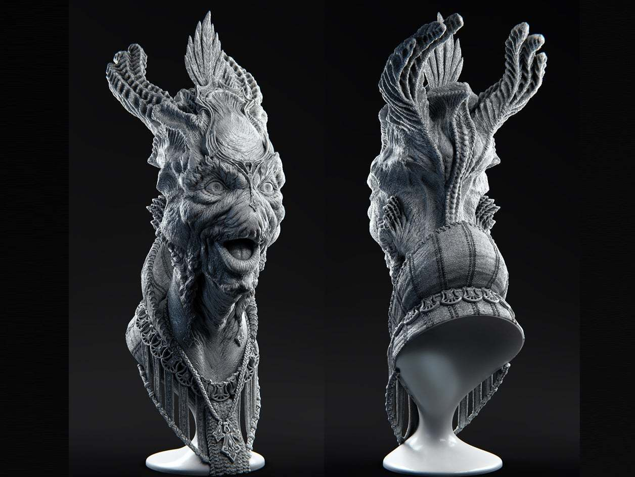 Thingiverse_01.jpg Download free STL file Talumihl - Master of Festivities • 3D print design, bendansie