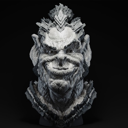 Download free 3D printer model Orc Chief Nakhbruh, bendansie