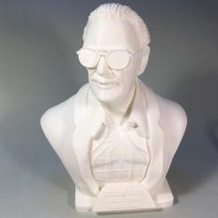 Fichier imprimante 3D gratuit Monument commémoratif Stan Lee, gerdriese