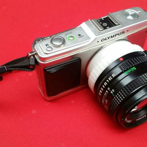 Plan 3D gratuit Adaptateur m43 (m4 / 3) à objectif Canon FD, AFdesign