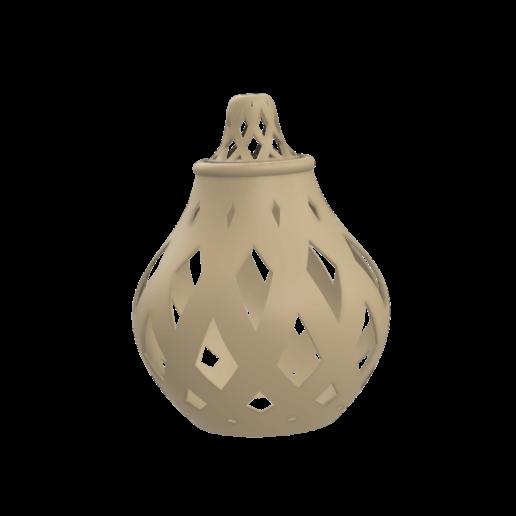 lamp v2.png Télécharger fichier STL gratuit Lampe à suspension • Plan pour imprimante 3D, nixon_dottie