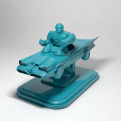 thing 0.png Download OBJ file the thing on batmovile • Object to 3D print, RolandH