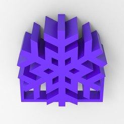 Free 3D printer model Snowflake decoration, stefancornelius14