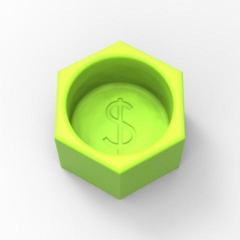 Free 3D printer files Change Holder, stefancornelius14