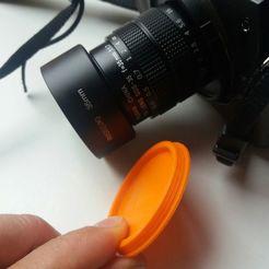 Download free STL files Fujian 1.7 Lens Cap, iago