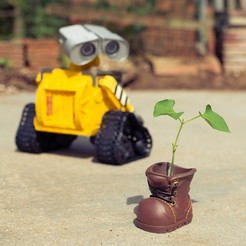Free Wall-E Robot - Fully 3D Printed 3D printer file, jojoneil