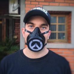IMG_20200423_175523-01.jpeg Download STL file Overwatch Mask • 3D print object, Ocean21