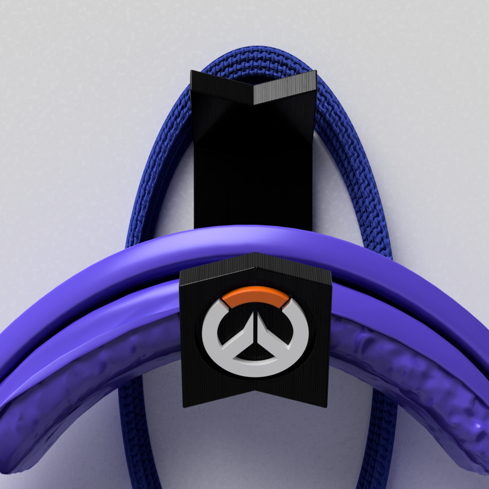 suporte_overwatch_parede_2018-Aug-20_12-48-45AM-000_CustomizedView29573425745_png.png Download STL file Suport Headset Overwatch • 3D printer design, Geandro_Valcorte