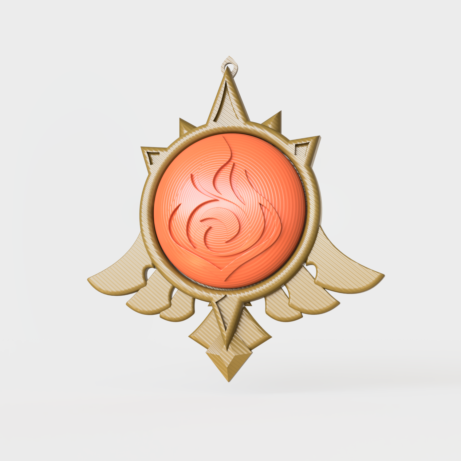 Brasao_Pyro_2020-Oct-05_03-35-39PM-000_CustomizedView2583160751_png.png Download STL file Pendant Pyro Amber - Genshin Impact • Template to 3D print, Geandro_Valcorte