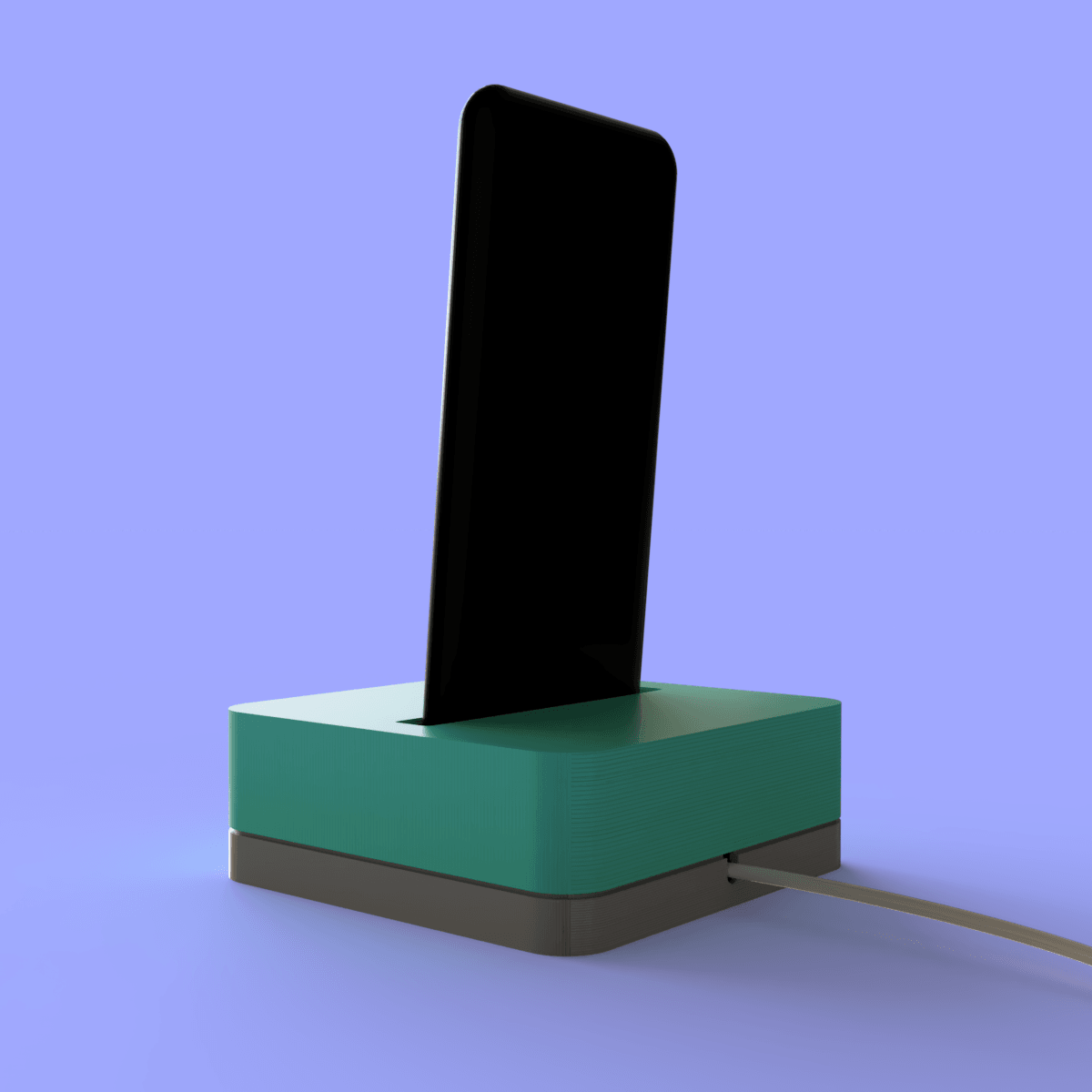 Idock_2019-Jan-14_04-34-04PM-000_CustomizedView6836300580_png.png Download free STL file Dock Iphone X • 3D printable design, Geandro_Valcorte