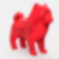 Lulu Final.stl Download STL file Spitz Low Poly • 3D printable design, Geandro_Valcorte