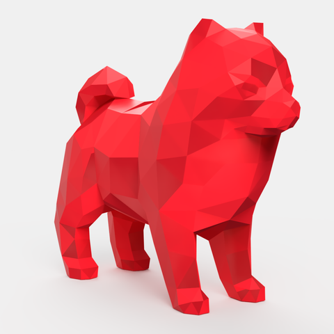 lulu_v1_2018-Aug-30_01-23-59AM-000_CustomizedView10498307370_png.png Download STL file Spitz Low Poly • 3D printable design, Geandro_Valcorte