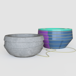 inorganic_2019-Jan-11_06-59-41PM-000_CustomizedView8958902443_png.png Download STL file Vase mold 2 • 3D printer model, Geandro_Valcorte